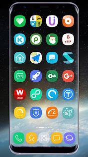GX S8 Icon Pack Aplicaciones para Android screenshot