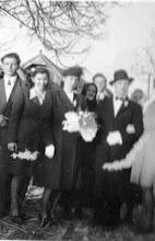 Photo: Décsi Etus, Vajda Géza, 1947 Vajda Sanyi, Décsi Teri, D.E. és V.G , Vajda mama, Vajda ...