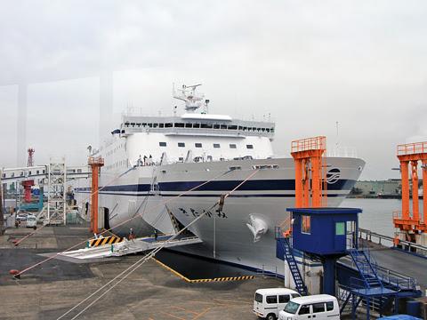 太平洋フェリー 新「きたかみ」 7デッキ 甲板_03