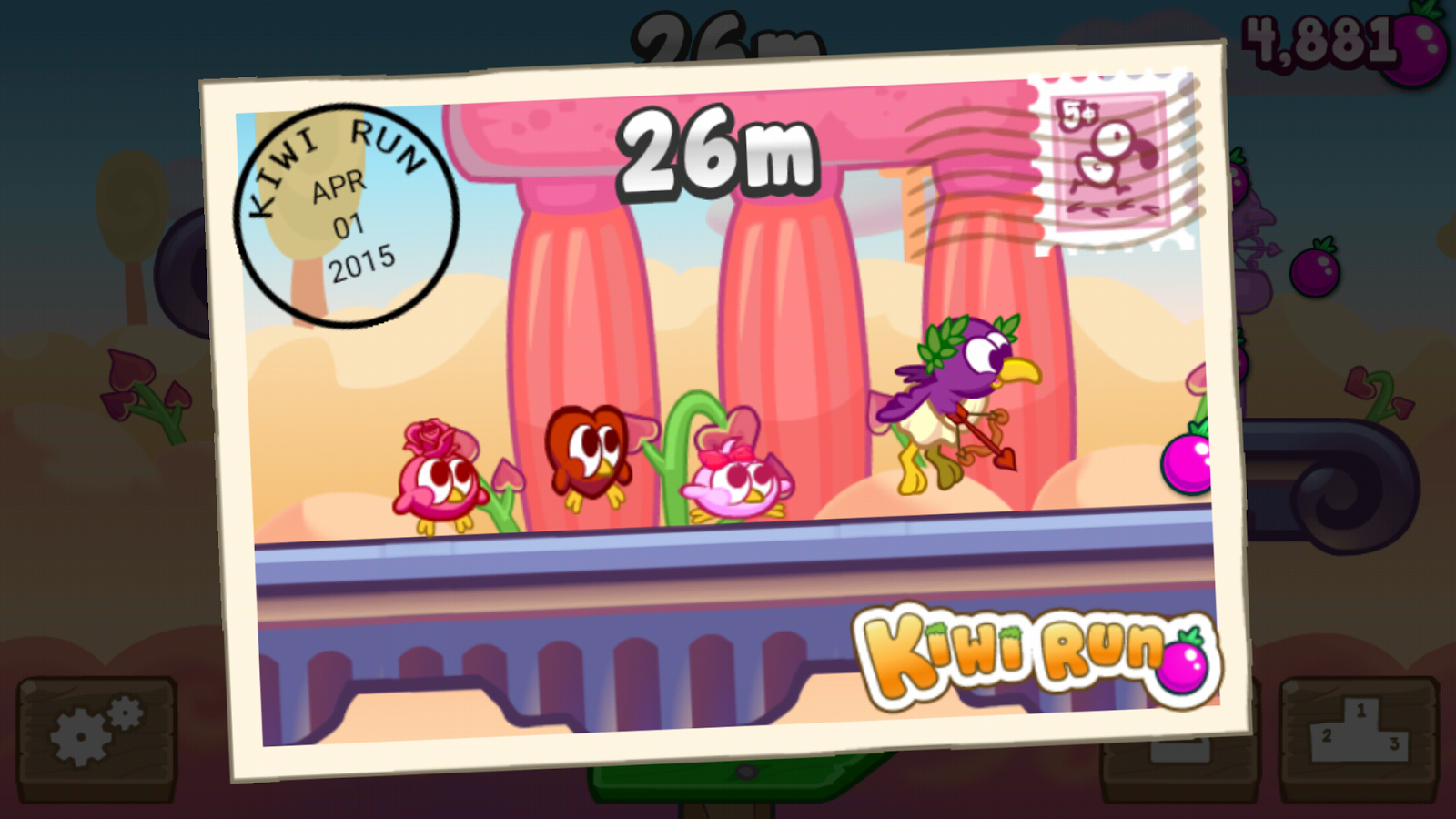 Kiwi Run- screenshot