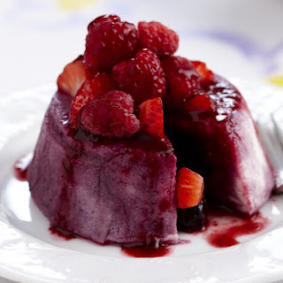 Individual Summer Berry Puddings