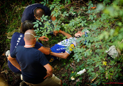 Remco Evenepoel vrijgepleit door onderzoek naar aanleiding van zijn val in Ronde van Lombardije