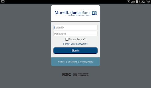 Morrill & Janes Bank and Trust- screenshot thumbnail