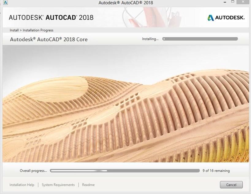 Hướng dẫn cài đặt autocad 2018-4