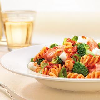 Bertolli Pesto-Lachs mit Pasta
