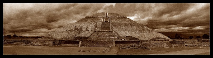 Photo: Pirámide del Sol - Teotihuacan, DF