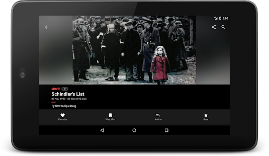 Cinephiles - A complete movie information app- screenshot thumbnail