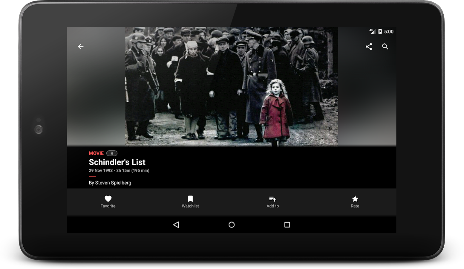 Cinephiles - A complete movie information app- screenshot