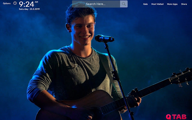 Shawn Mendes HD Wallpapers New Tab