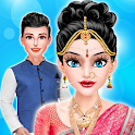 Indian Wedding -  Indian Royal Girl Makeover icon