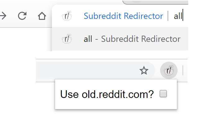 Subreddit Redirector