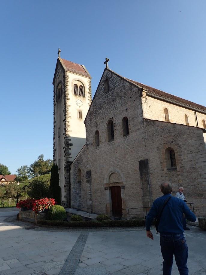 Eglise Saint-Jacques de Feldbach, XIIeme siècle, ancien prieuré clunisien