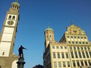 Photo: Perlachturm und Rathaus