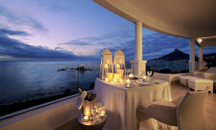 The Twelve Apostles in Camps Bay offers knock-out sea views.