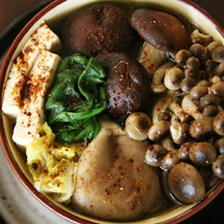 Mushroom Hot Pot – Kinoko Nabe.