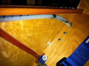 Photo: cablage prises casque+ installation chemin de câbles