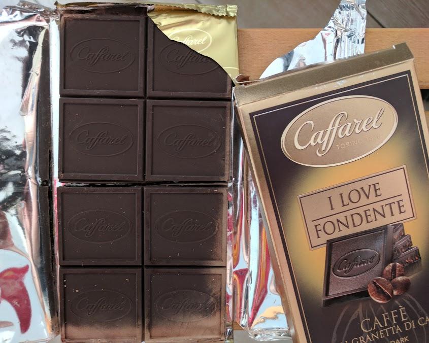 75% caffarel coffee bar open