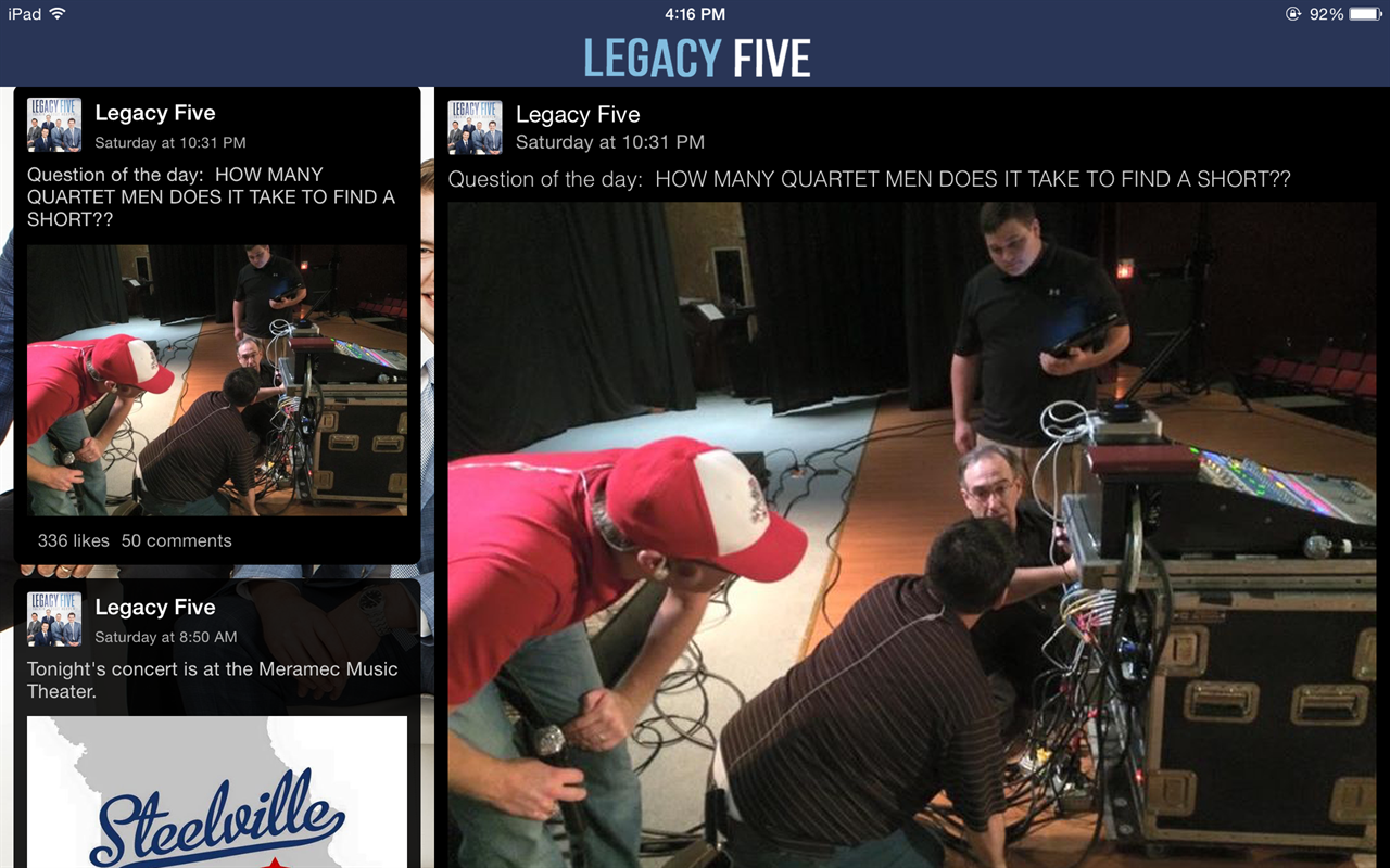 Legacy Five- screenshot