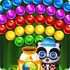 panda burbuja estrella icon