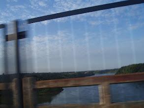 Photo: Rio Paraná (Mitad Brasil/Paraguay)