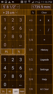 Feet & Inches Calculator- screenshot thumbnail