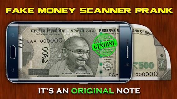 Fake Money Scanner Prank screenshot 03