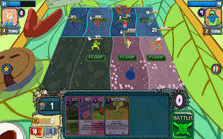 Screenshot of Card Wars - Adventure Time