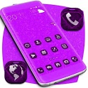 Purple Diamonds Launcher Theme icon