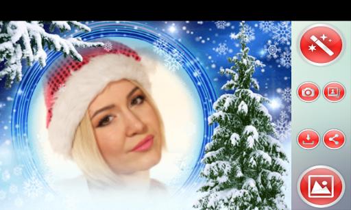 クリスマス フォトフレーム|玩攝影App免費|玩APPs