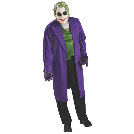 Joker maskeraddräkt från Batman The Dark Knight