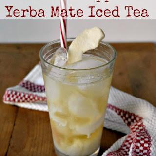 Caramel Apple Yerba Mate Iced Tea.