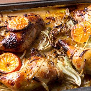 Orange Fennel Sumac Chicken
