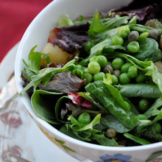 "Italian ""Street Salad"" of Fresh Peas, Mint, & New Potatoes"