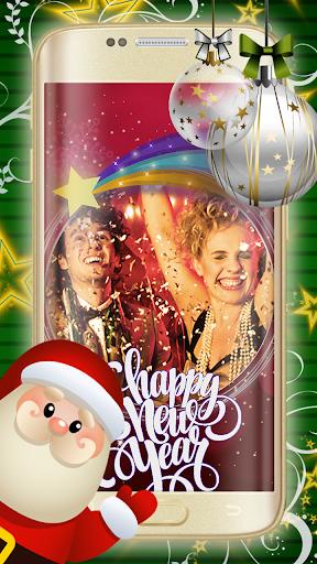フォトモンタージュ ソフト - 幸せな新年の