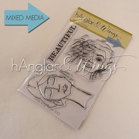 hÄnglar & Wings Clear Stamps - Ansikten #1