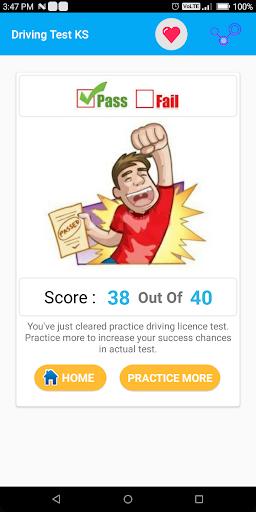kansas written drivers test sample