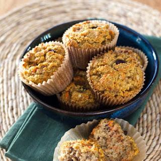Paleo Carrot Raisin Muffins