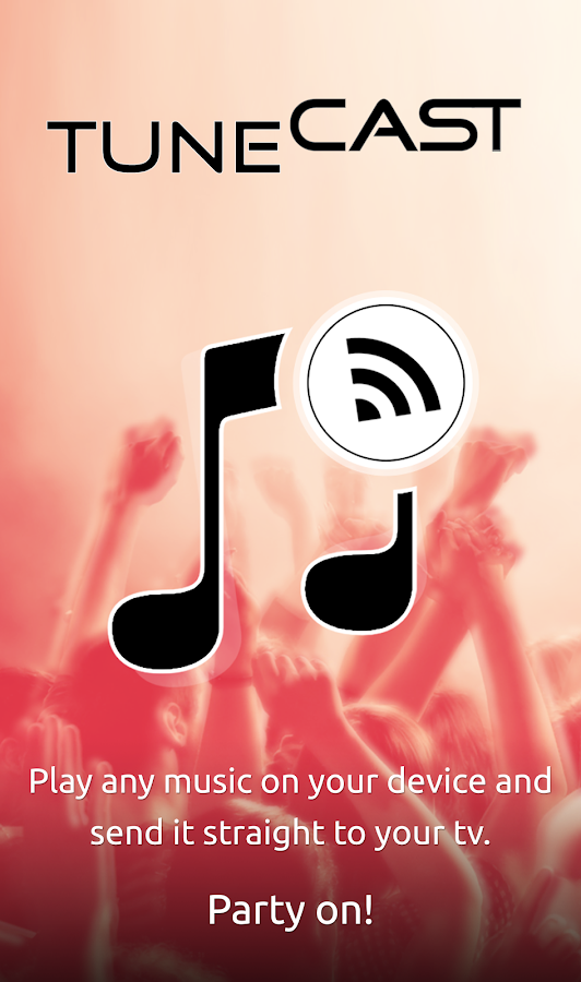 TuneCast DLNA Music Player- screenshot