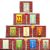 Bricks Pyramid Math
