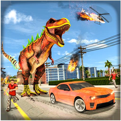 Dinosaur Rampage City Simulator