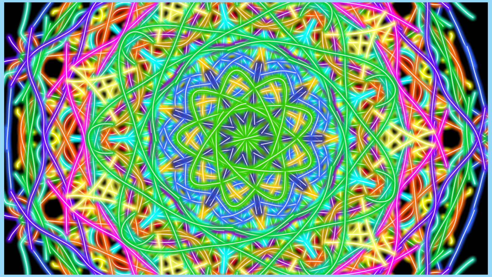 Color art kaleidoscope - Kaleidoscope Magic Paint Screenshot