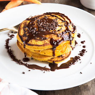 BRAZILIAN FLAIR CARROT PANCAKES