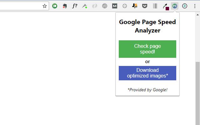 Google Page Speed Analyzer