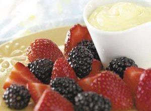 Lemony Fruit Dip With Pizzazz Recipe