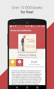 Free Books and Audiobooks- screenshot thumbnail