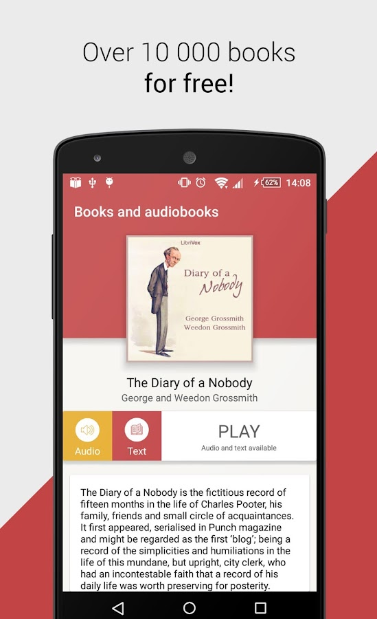 Free Books and Audiobooks- screenshot