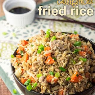 Cauliflower Pork Fried Rice.