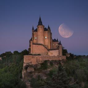 Alcazar de Segovia by Joyce Chang - Buildings & Architecture Public & Historical ( segovia, alcazar de segovia, castle, spain )