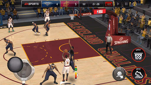 NBA LIVE Mobile Basketball  gameplay | by HackJr.Pw 6