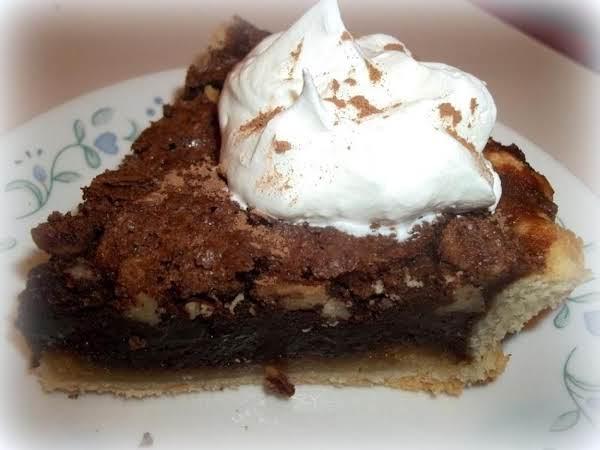 ~ Chocolate Pecan Chess Pie ~